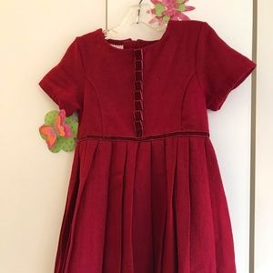 Red dress with tons of sophisticated detail - EUC